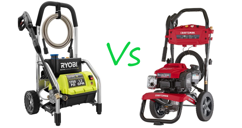 Ryobi Vs Craftsman Pressure Washer (Best Analysis)