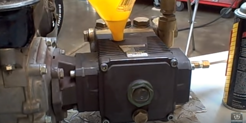 How to the Change Oil in Your Pressure Washer Pump