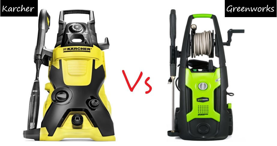 Karcher Vs Greenworks Pressure Washer Review