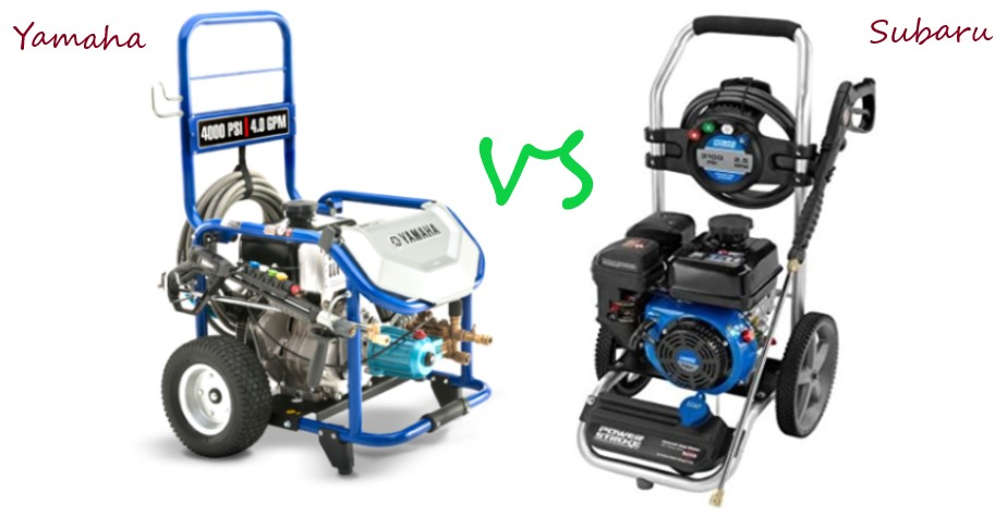 Yamaha Vs Subaru Pressure Washer