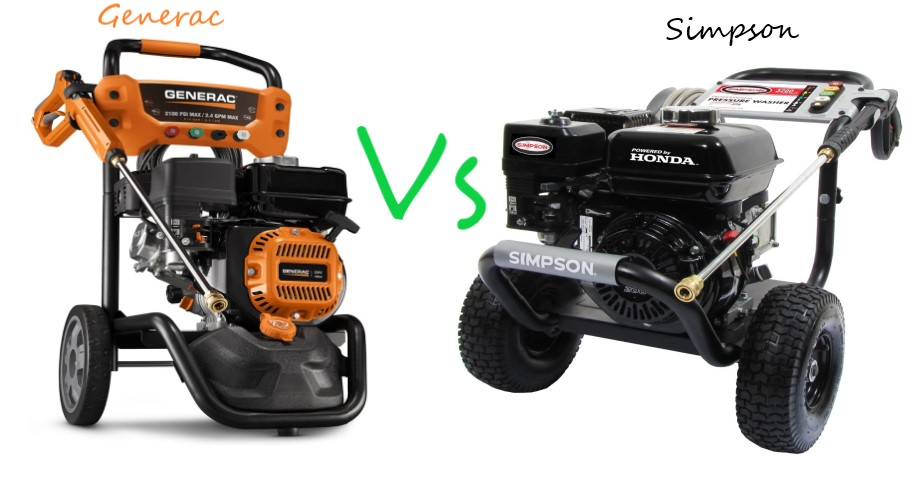 Generac Vs Simpson Pressure Washer (In-depth Review)