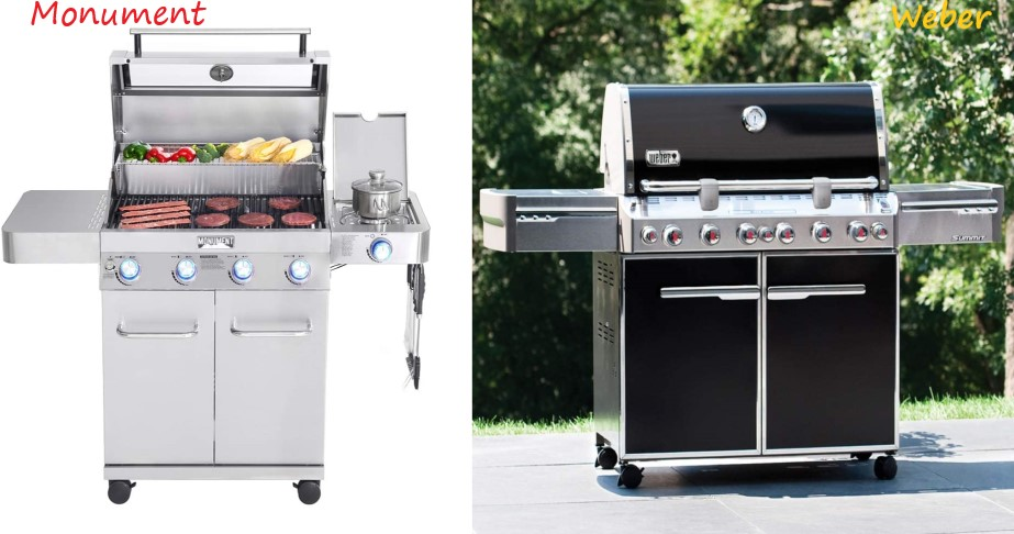 Monument Grills Vs Weber Grills Review