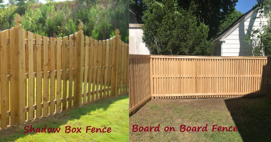 Shadow Box Fence Vs Board on Board Fence (Side by Side Comparison)
