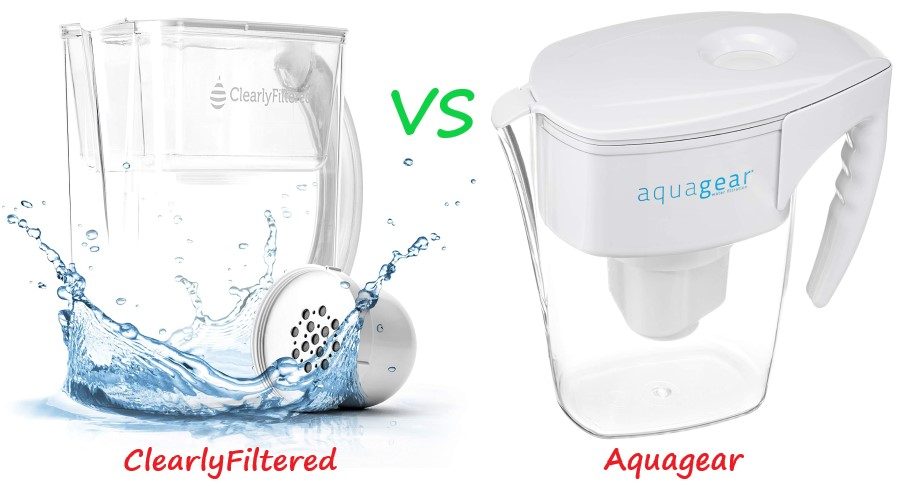 Clearly Filtered Vs Aquagear Water Filter Pitcher (Comparison)